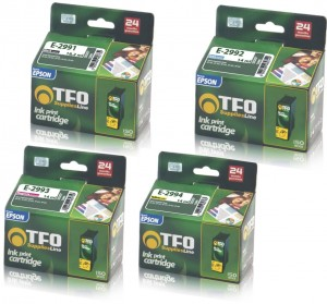 Komplet TFO Epson T2991/2992/2993/2994BCMY